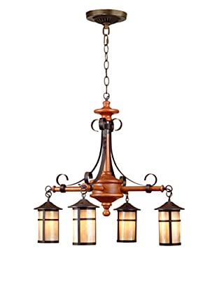 Dale Tiffany 4-Light Round Lantern Fixture