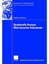 Strukturelle Analyse Web-basierter Dokumente (Multimedia und Telekooperation)