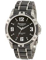 Armitron Men's 204718BKBK Black Ceramic Stainless Steel Black Ceramic Bracelet Watch