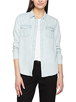 Levi's Hemd Denim Modern Western No Yoke Shirt - Long Sleeve