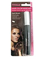 1000 Hour Hair Color Mascara Temporary Hair Color & Root Touch Up (Dark Brown)