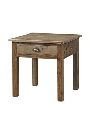 Padma's Plantation Salvaged Wood End Table, Natural