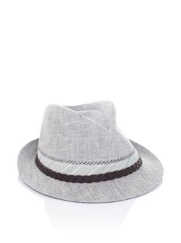 Ted Baker Men's Habar Trilby Hat (Light Grey/Blue)