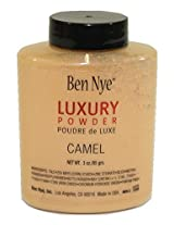 Ben Nye Camel Luxury Face Powder Shaker Bottle - 3oz Large Size