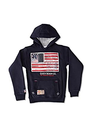 Gangster Unit Sudadera Flagamerica Boy (Marino)