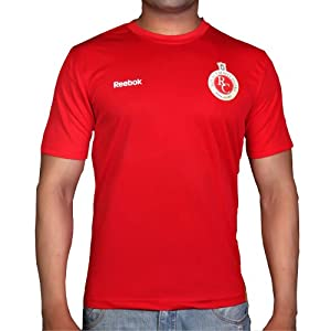 Reebok I22499 RCB Men's T-Shirt-Red