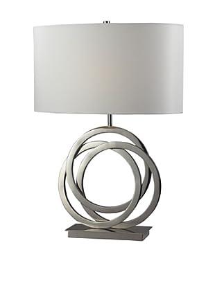 Artistic Lighting Trinity Table Lamp, Polished Nickel