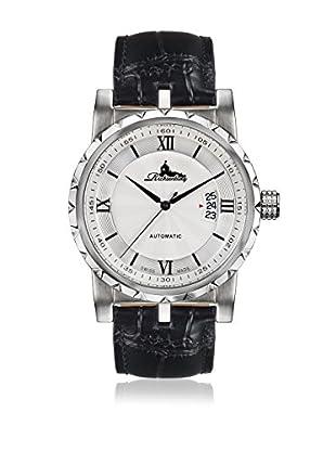 Richtenburg Reloj con movimiento automático suizo R12300 Lugano Negro 42 mm12 mm