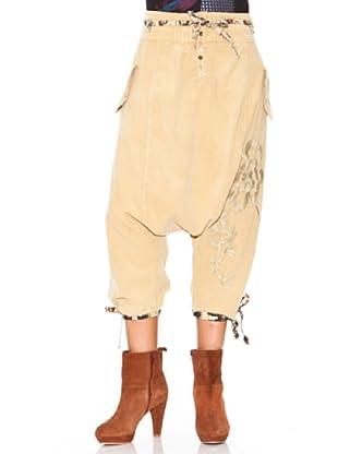 Desigual Pantalón Avemus (Camel)