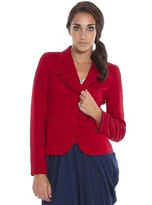 PEDRO DEL Hierro Chaqueta Volante (Rojo)