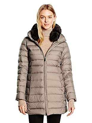 ADD Plumas Largo Down Coat Detachable  Fur Collar