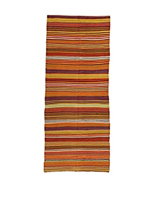 Design Community By Loomier Teppich Kilim Caucasico mehrfarbig 136 x 325 cm