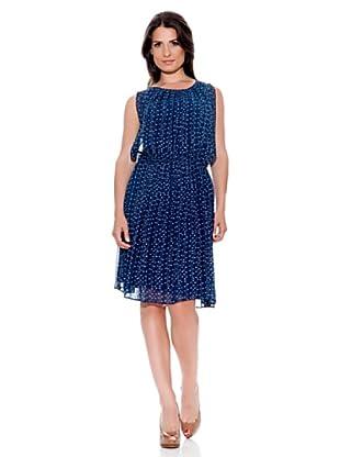 Caramelo Vestido Fantasía (Azul Marino)
