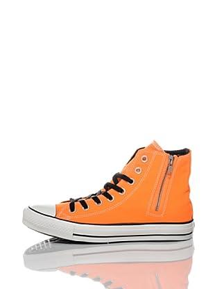 Converse Zapatillas All Star Side Zip (Naranja / Negro)
