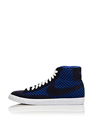 Nike Zapatillas Blazer Mid Woven (Azul / Marino)