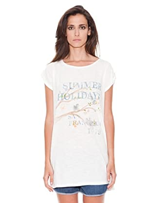 Women secret Camiseta T-Shirt (Blanco)