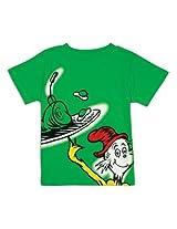 Bumkins Dr. Seuss Short Sleeve Toddler Tee, Green Eggs, 24 Months By Bumkins