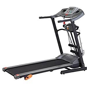 Afton Motorised Treadmill With Massager
