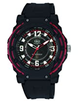 Q&Q Analog Black Dial Children's Watch - VR16J001Y