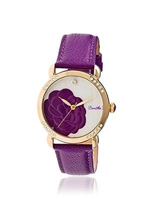 Bertha Women's BR4606 Daphne Purple/White Leather Watch