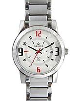 Maxima Attivo Analog Silver Dial Men's Watch - 21009CMGI