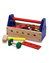 Melissa & Doug Wrench Wooden Tool Kit 24 Piece