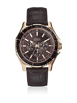 Guess Reloj de cuarzo Man Dorado / Negro 44 mm