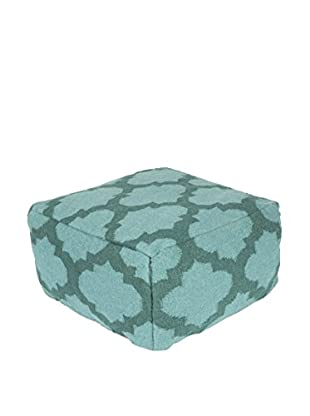 Surya Frontier Pouf, Blue