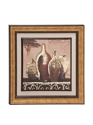 Asian Vases Framed Art