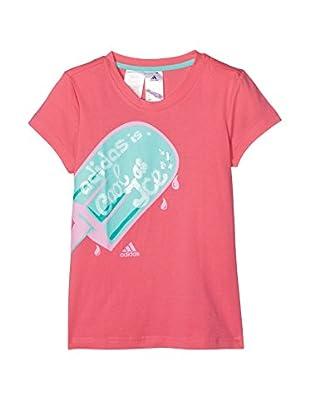 adidas Camiseta Manga Corta Yg Cool Gr Slo-Rose