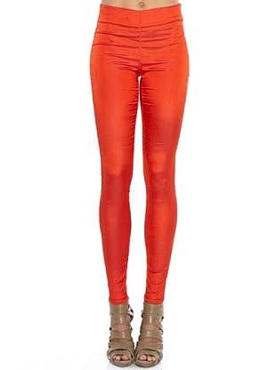 PEDRO DEL HIERRO Leggings Brillo (Rojo)