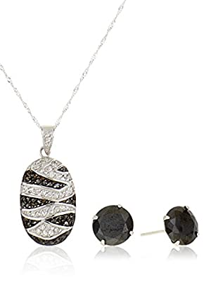 Córdoba Jewels Set Kette, Anhänger und Ohrringe Sterling-Silber 925