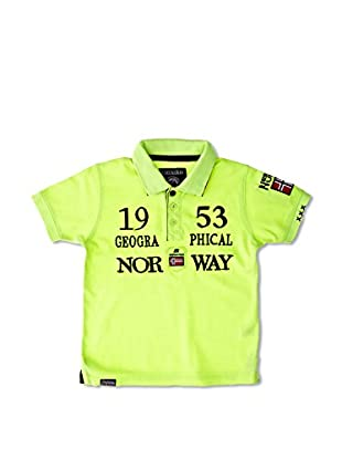 Geographical Norway Polo Kani Ss Boy 402 (Amarillo)