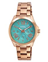 Fossil Analog Green Dial Men's Watch - AM4540