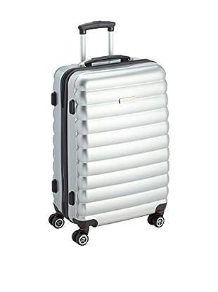 Luggagezone Hartschalen Trolley Upright silberfarben 60 cm
