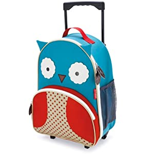 Skip Hop 212304 Zoo Little Kid Luggage-Owl