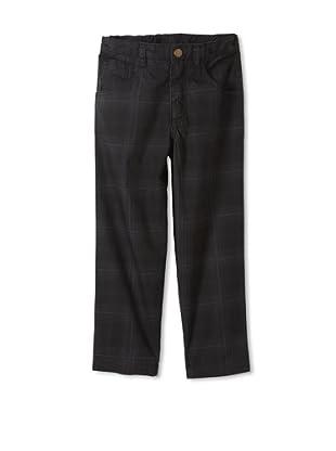 Monster Republic Boy's Plaid Pant (Black)
