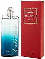 Declaration Essence By Cartier For Men. Eau De Toilette Spray 3.4 Ounces