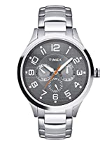 Timex Analog Silver Dial Men's Watch - TW000T307