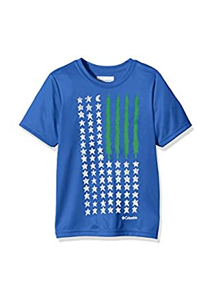 Columbia Camiseta Manga Corta Camp Americana Graphic