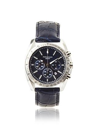 Rudiger Men's R1000-04-003L Dresden Blue Tachymeter Watch