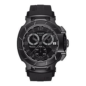 Tissot T048.417.37.057.00 T-Race Chrono Black Dial Men's watch