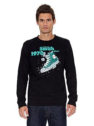 John Smith Camiseta Noviercas (Negro)