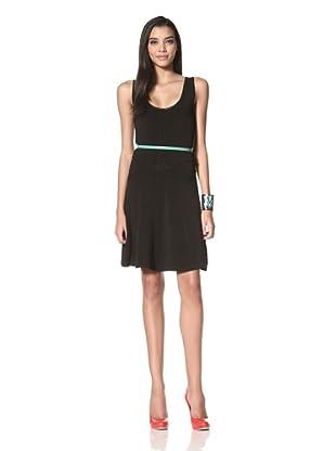 Z Spoke Zac Posen Women's Scoop Neck Dress (Black)