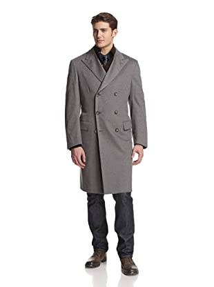 Brioni Men's Cashmere Coat (Grey)