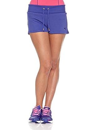 Puma Short Sweat (Azul)