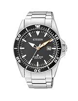 Citizen Eco-Drive Analog Black Dial Men's Watch BN0100-51E