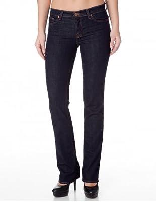 J Brand Jeans Mid Rise Skinny Dynamite (Blau)