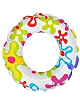 Intex Lively Print Swim Ring 6 To 10 Years - 59241 - Flower