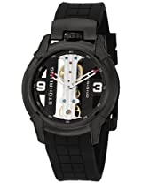 Stuhrling Original Men's 8259.33561 Leisure Gen-X Raptor Mechanical Skeleton Black Watch